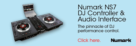 Numark NS7 DJ Controller & Audio Interface