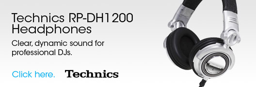 DJ Equipment - Technics RP-DH1200 Headphones